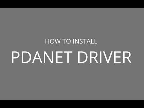 Error 2 pdanet driver is either not installed or need to reset