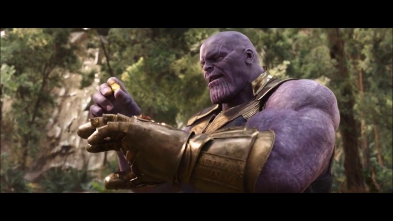 Thanos's Snap With Memes - YouTube