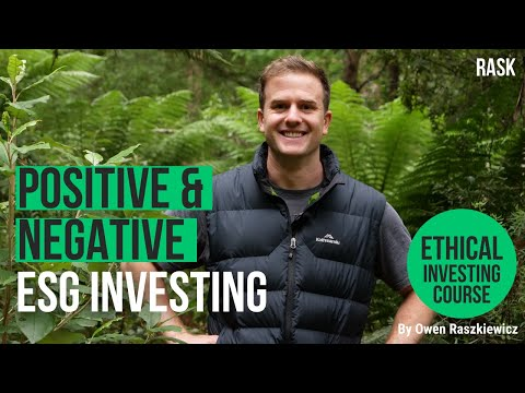 How to use positive & negative screening for ethical investments   Rask's Ethical Investing Course