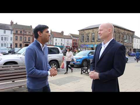 General Election campaign 2017 with William Hague