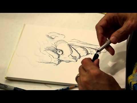 Joker quick sketch by  George Perez