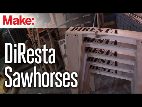 how to build sawhorses video