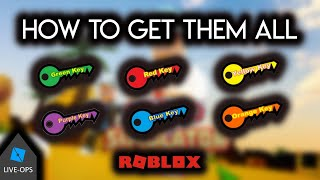 [GAME LIVE-OPS] How to get all 6 Keys Badges in Speed Simulator X Roblox Tutorial