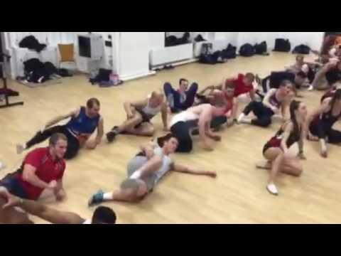 Birmingham Lions Rugby Union Charity Dance Class