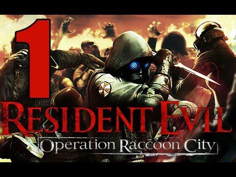 Resident Evil Operacion Racoon City en Español | Parte 1