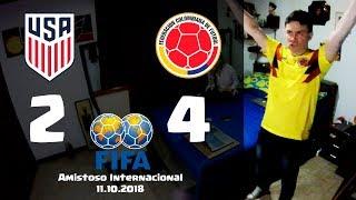 Reacciones USA 2 vs Colombia 4 | Amistoso Internacional