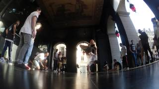 BILLY BOY - POCKEMON CREW - Chilling At Opera Of Lyon (FRANCE)