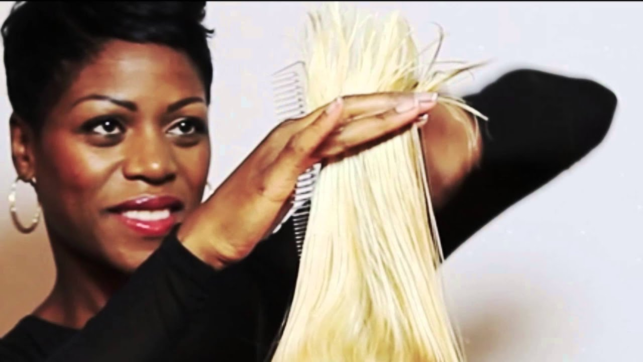Coiffure,Coupe transformation- show coiffure + make up - YouTube