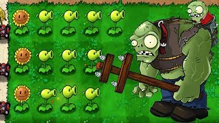 Peashooter vs Zombies Army Massive Battle - Plants vs. Zombies Gameplay #1