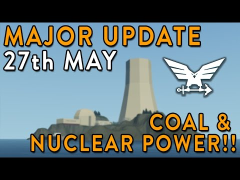 Release Date Announced - Coal & Nuclear Major Update - Stormworks