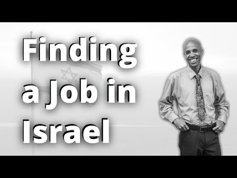 Tips To Finding A Job In Israel