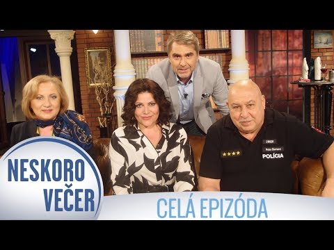 Andy Hryc, Ilona Csáková a Elena Kohútiková v Neskoro Večer - CELÁ EPIZÓDA