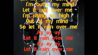 Let It Rain Over Me Lyrics- Pitbull ft Marc Anthony