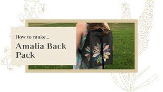 How to make - Amalia Back Pack