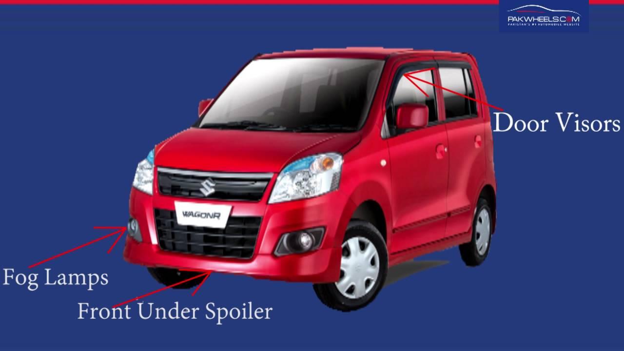 Suzuki wagonr body kit