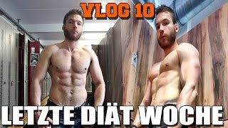Letzte Diät Woche - FitnessOskars Diät Stil problematisch - VLOG 10