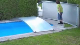 Repeat youtube video Schwimmbadüberdachung / Swimming Pool Abdeckung FlexiRoof vollständig schließen