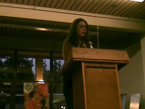 Ana Castillo reads at UC Berkeley (3 of 4)