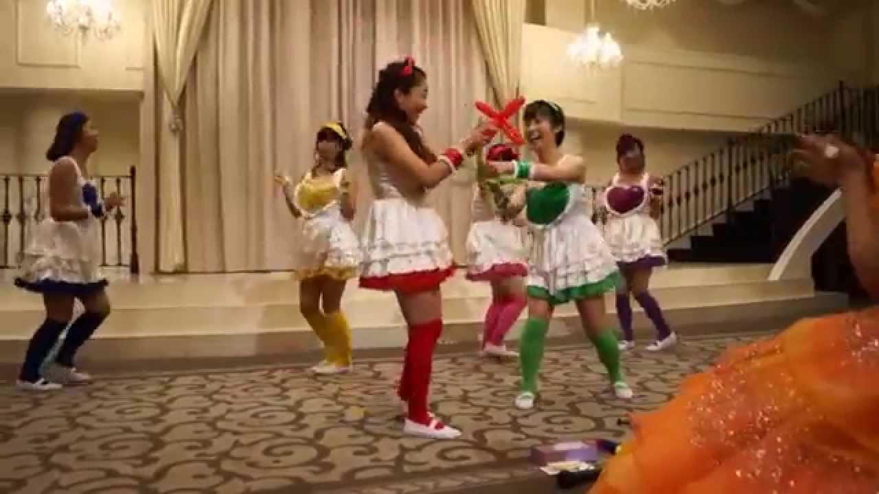 【結婚式余興】ももクロ 「行くぜっ!怪盗少女」 6人 バルーンアート