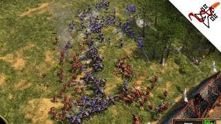 Age of Empires 3 - 4P FFA THREE ARMIES COLLIDE | Multiplayer Gameplay