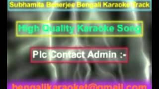 Nijhum Nijhum Raate Aai Ghum Porider Karaoke Subhamita Banerjee