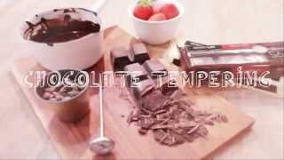 [브레드가든/이지베이킹] 초간단! 초콜릿 템퍼링하는 방…