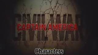 Captain America: Civil War Characters