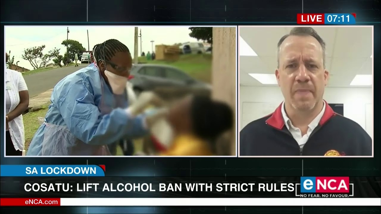 Cosatu: Lift alcohol ban with strict rules - eNCA