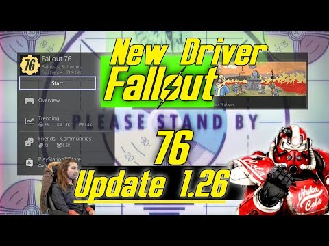 New Fallout 76 Update 1 26 ☢ Patch Notes Bethesda #Ps4 #news #update