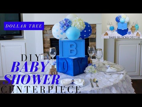 dollar-tree-diy-baby-shower-decor-|-diy-boy-baby-shower-centerpiece-|-baby-blocks-baby-shower