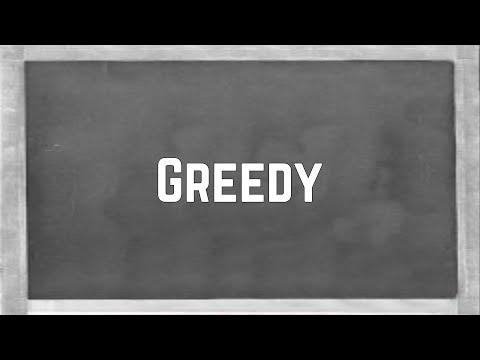 Ariana Grande - Greedy (Lyrics)