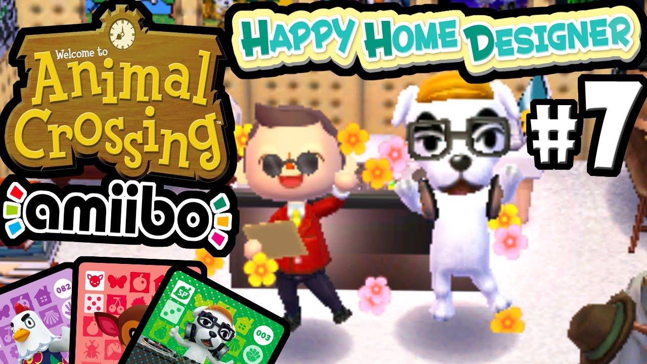 Animal Crossing Happy Home Designer PART 7 Gameplay Walkthrough (DJ KK Slider Amiibo Card) 3DS ...