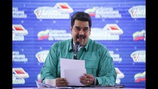 Presidente Maduro clausura I Congreso Viviendo Venezolanos, 15 noviembre 2018