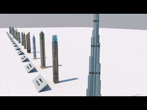 Tallest Buildings in Dubai 2020 – 3D