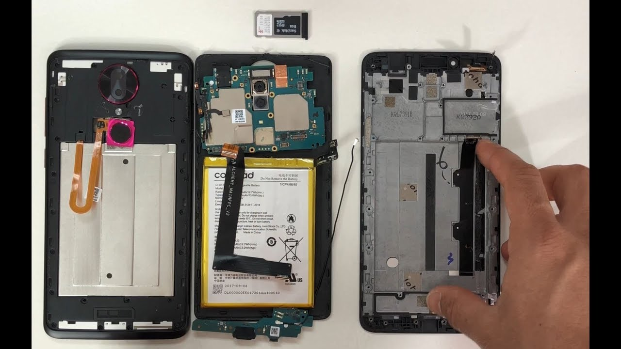 How to Take Apart the T-Mobile REVVL Plus in 6 Minutes