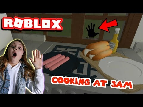 COOKING AT 3AM!! Roblox Bloxburg - Ruby Rube