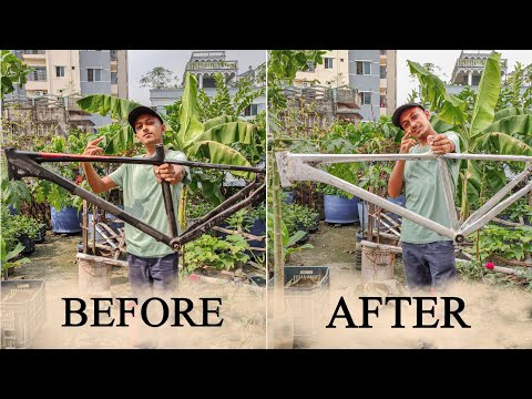 Remove Bicycle Frame Paint | Crank Master thumbnail