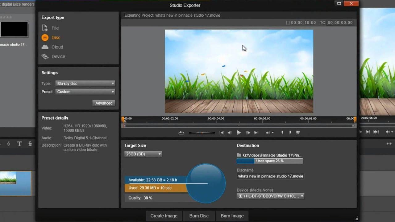 pinnacle studio 17 ultimate software free download