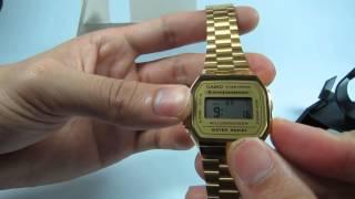 Đồng hồ đeo tay Casio A168WG-9D