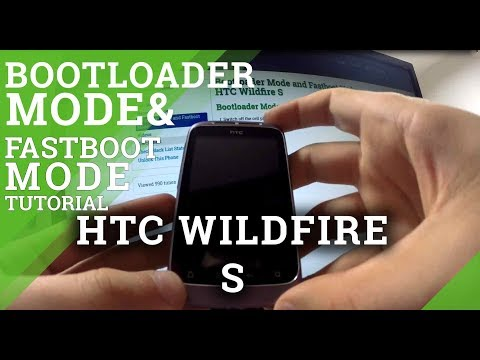 Bootloader Mode and Fastboot Mode HTC Wildfire S - hardreset.info