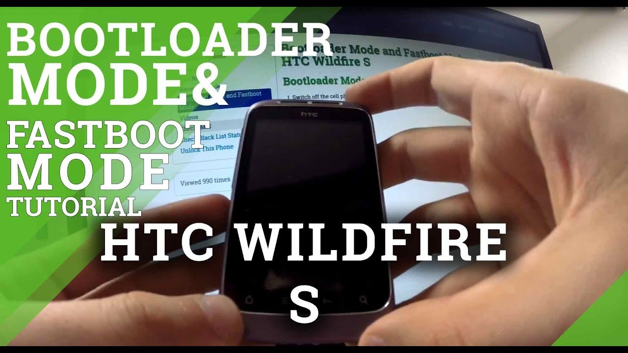 Bootloader Mode and Fastboot Mode HTC Wildfire S - hardreset info