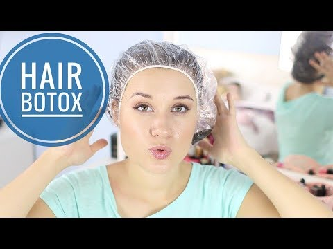 Как делают ботокс для волос в домашних условиях