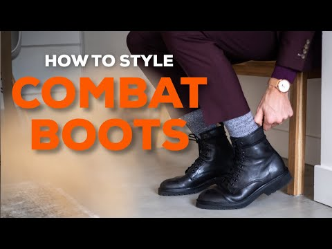 5 Ways To Style COMBAT BOOTS | Men's Boots | Parker York Smith