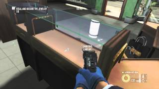 (Xbox 360) PayDay 2- Jewelry Store Full Stealth Solo