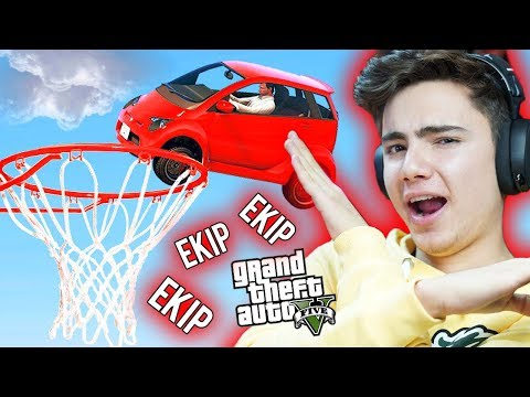 ARABALAR İLE BASKETBOL ! (GTA 5 Ekip)