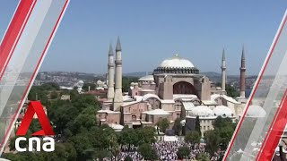 Istanbul's Hagia Sophia reopens as a mosque, Friday prayers held for first time in 86 years