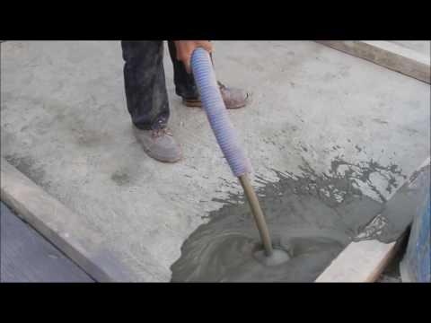 Demonstration of Foam Concrete by Ressichem