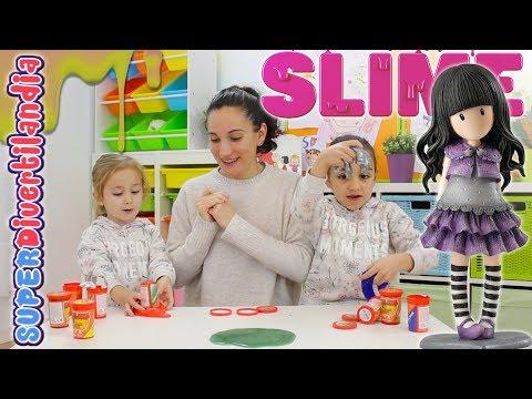 Slime y Gorjous de Santoro en SUPERDivertilandia con Andrea e Irene.