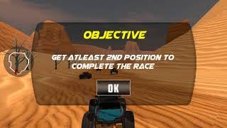 Truck Monster Desert Death Race - Adventure Race | Mat Beng TV Games | GamePaly Android