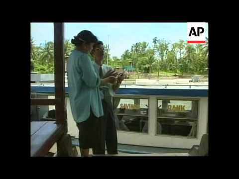 THAILAND: BANK USES RIVER BARGE TO REACH CUSTOMERS